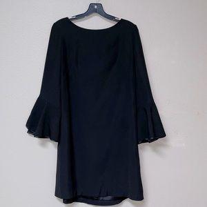 White House Black Market Simple Black Dress (14)